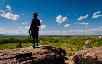 gettysburg battlefield - outdoor 8th grade trip