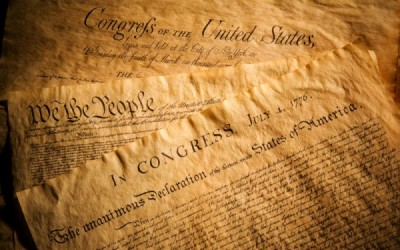 U.S. Constitution, Declaration of Independence and Bill of Rights