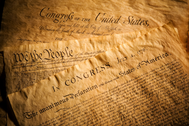 a paper on the constitution right of the united states