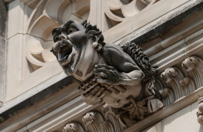 national cathedral gargoyle